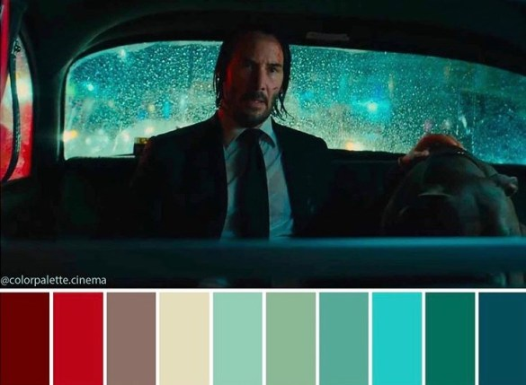 Color Palette Cinema John Wick 3