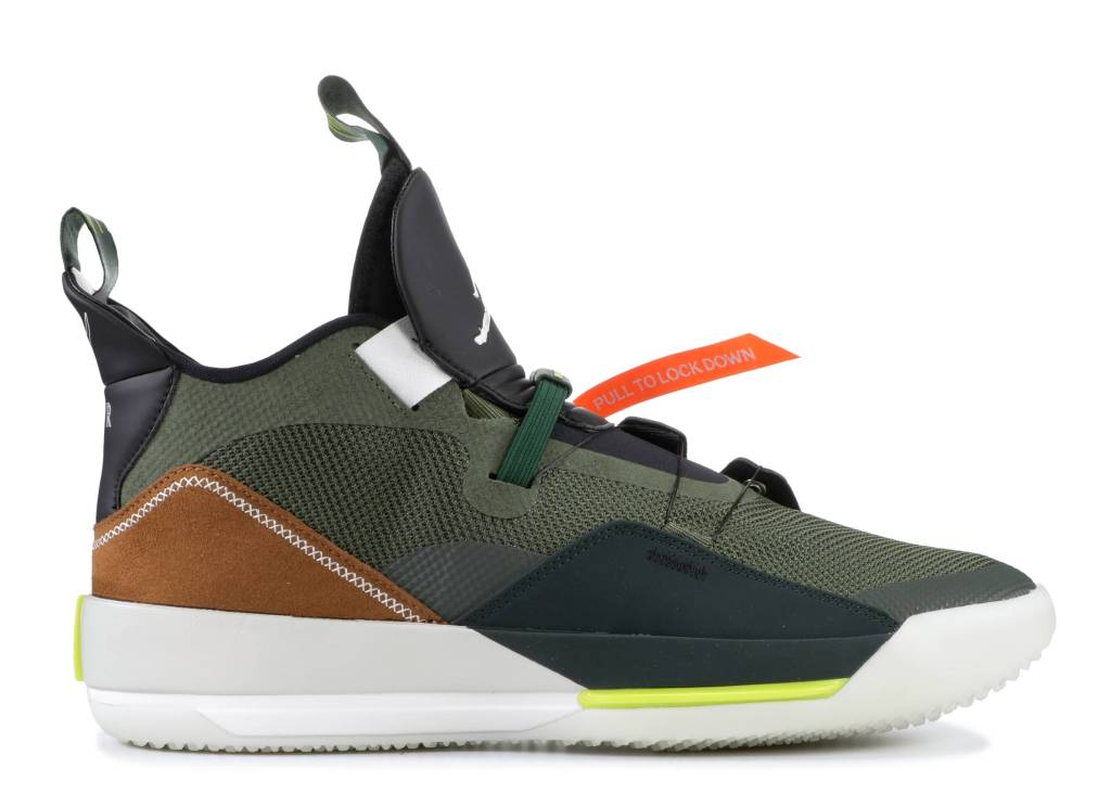 Travis Scott x Air Jordan 33 NRG Army Olive