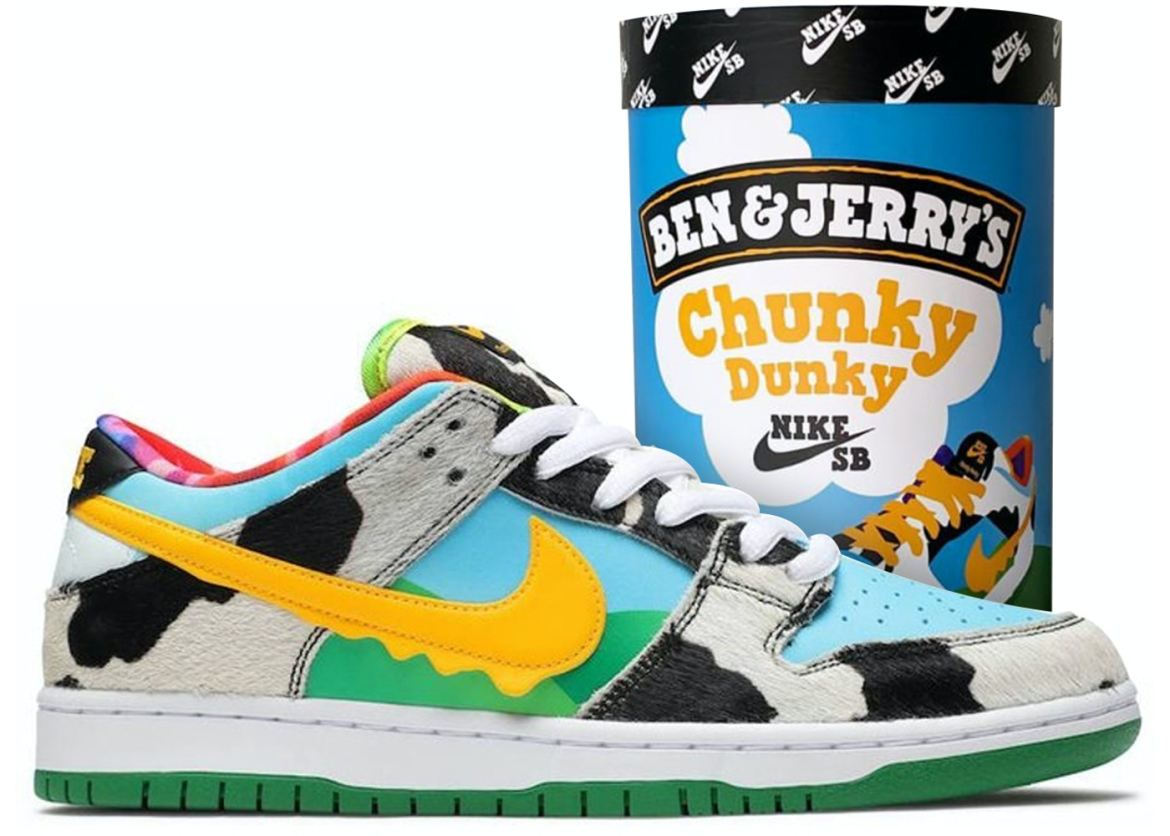 Ben & Jerry's xNike SB Dunk Low Chunky Dunky