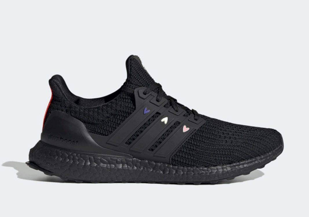Adidas Ultra Boost 4.0 DNA Hearts Black