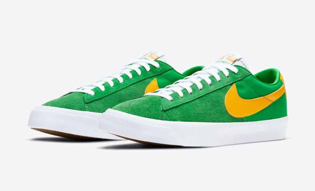 Nike SB Blazer Low GT Lucky Green