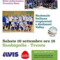 nazionale italiana trapiantati e dializzati volley