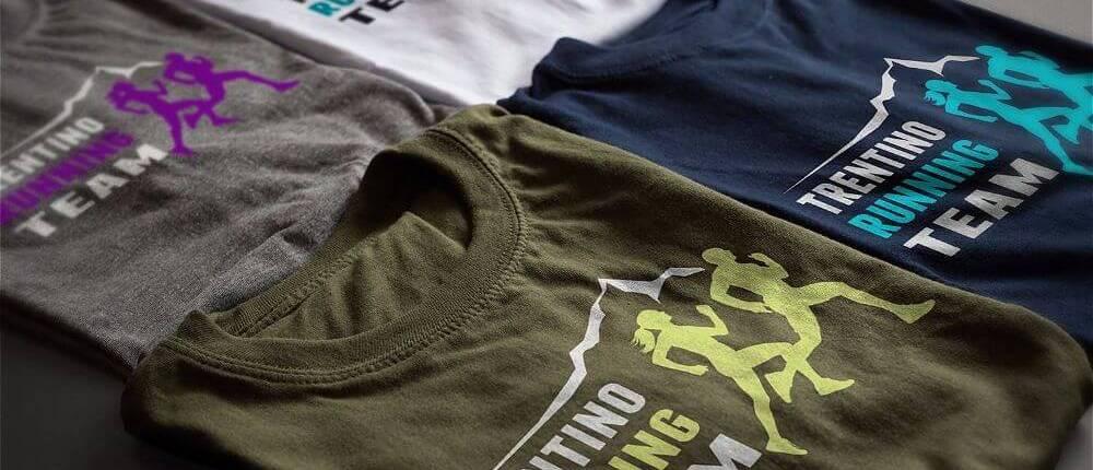 t-shirt trentino running team