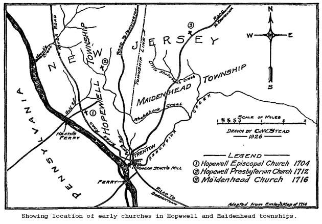 Highlands Atlantic New Jersey Map