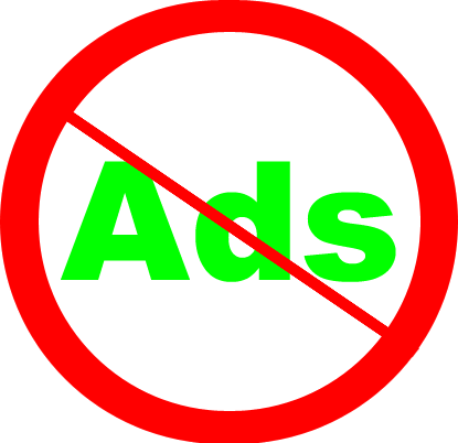 Ads are not welcome here!