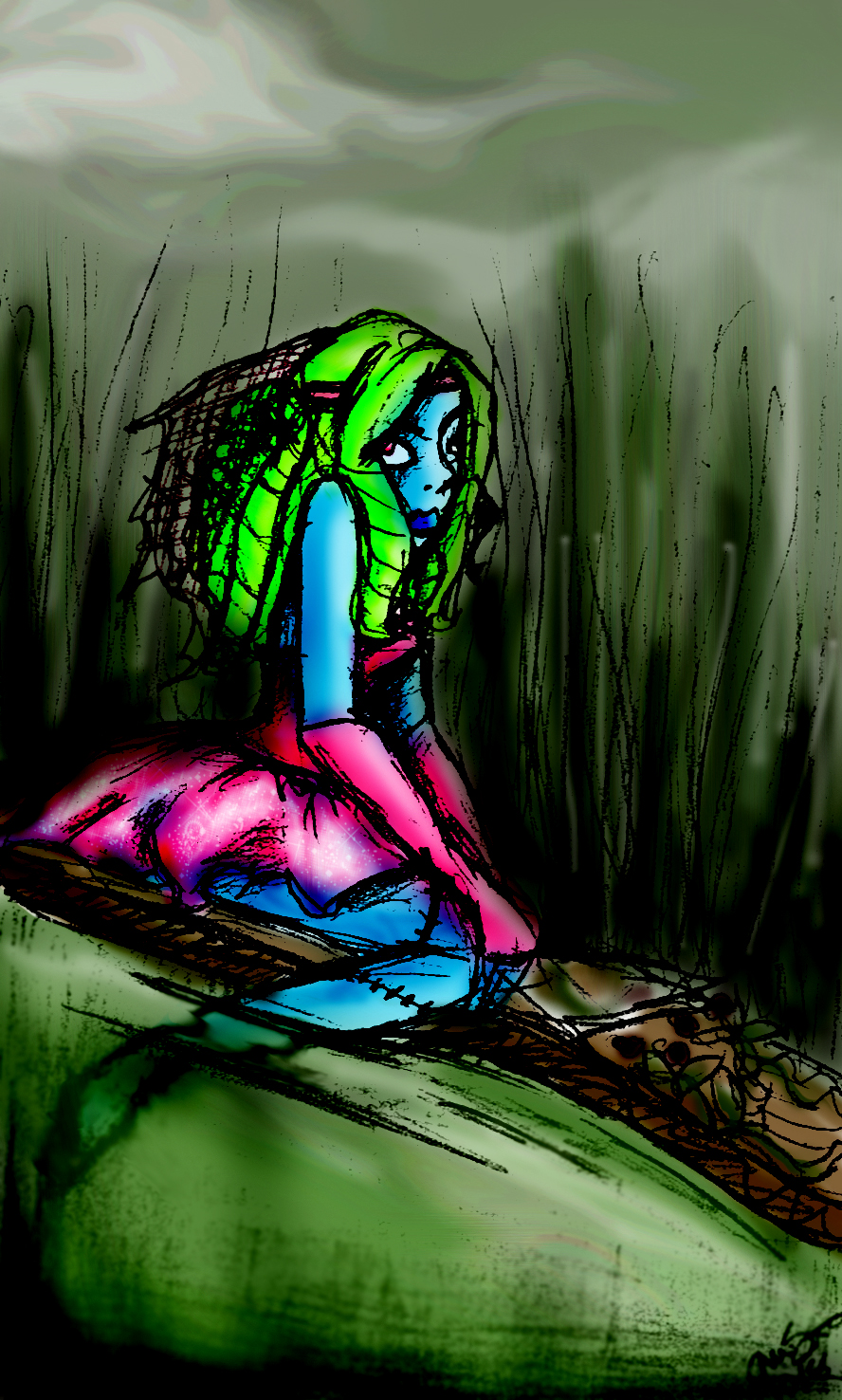 She's a Swamp princess!