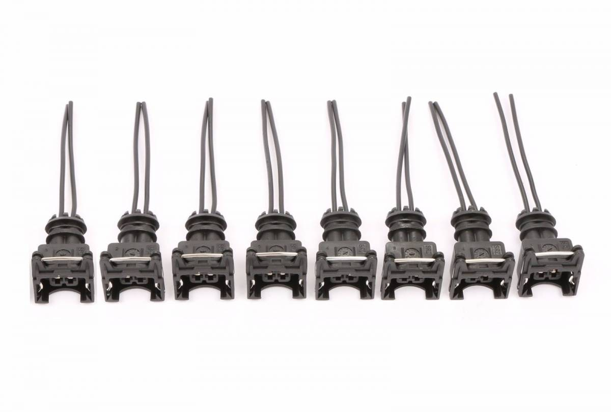 Fuel Injector Connector Wiring Plugs Clips Fit Bosch Ev1 Obd1 Cut Amp Splice 8 Tre Ev1 Clips 8
