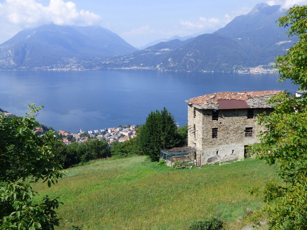 Rustico Indipendente Bellano Vista Lago Como E Terreno