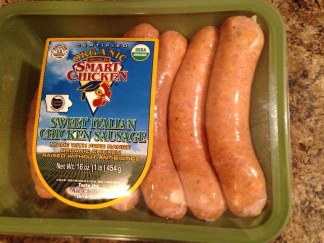 Smart Chicken organic sweet italian sausage