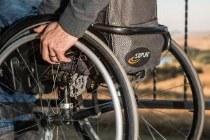 wheelchair-749985_1280 by stevepb - pixabay.com