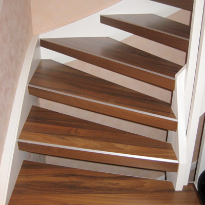 Offene Treppe Alte Treppe neu