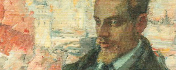 Rainer Maria Rilke ritratto da Leonid Pasternak