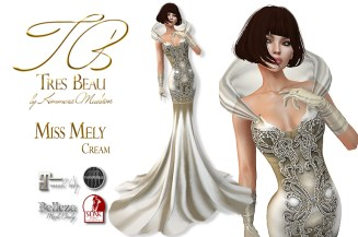 Miss Mely 2017 Cream