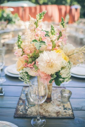 Dahlia Tablescape