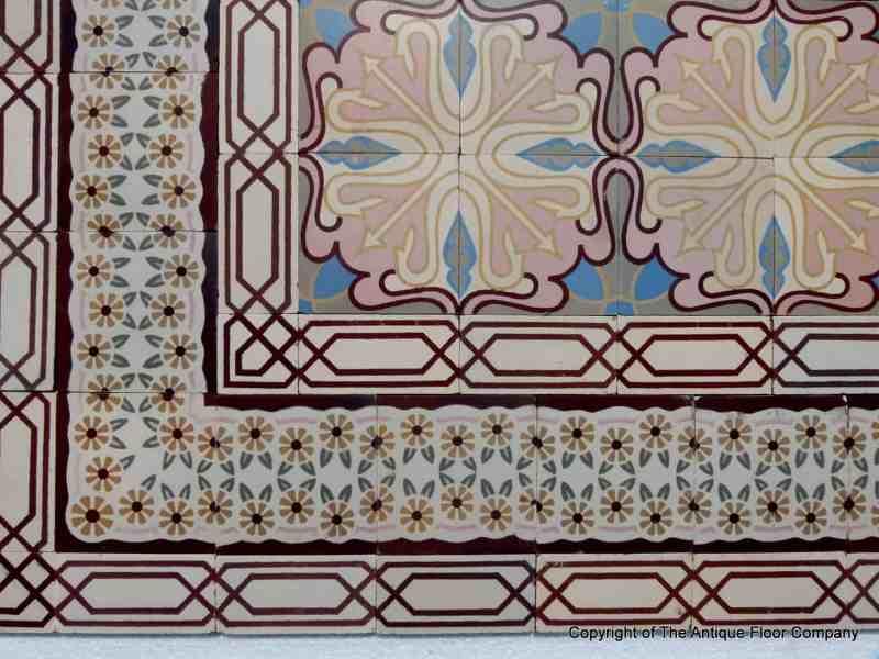 Art Deco Floor Tile Home Dream Tiny Home Plans