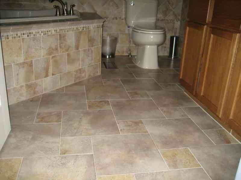 Porcelain Tile Flooring and More Pictures and Ideas   Contemporary     Porcelain Tile Flooring Example
