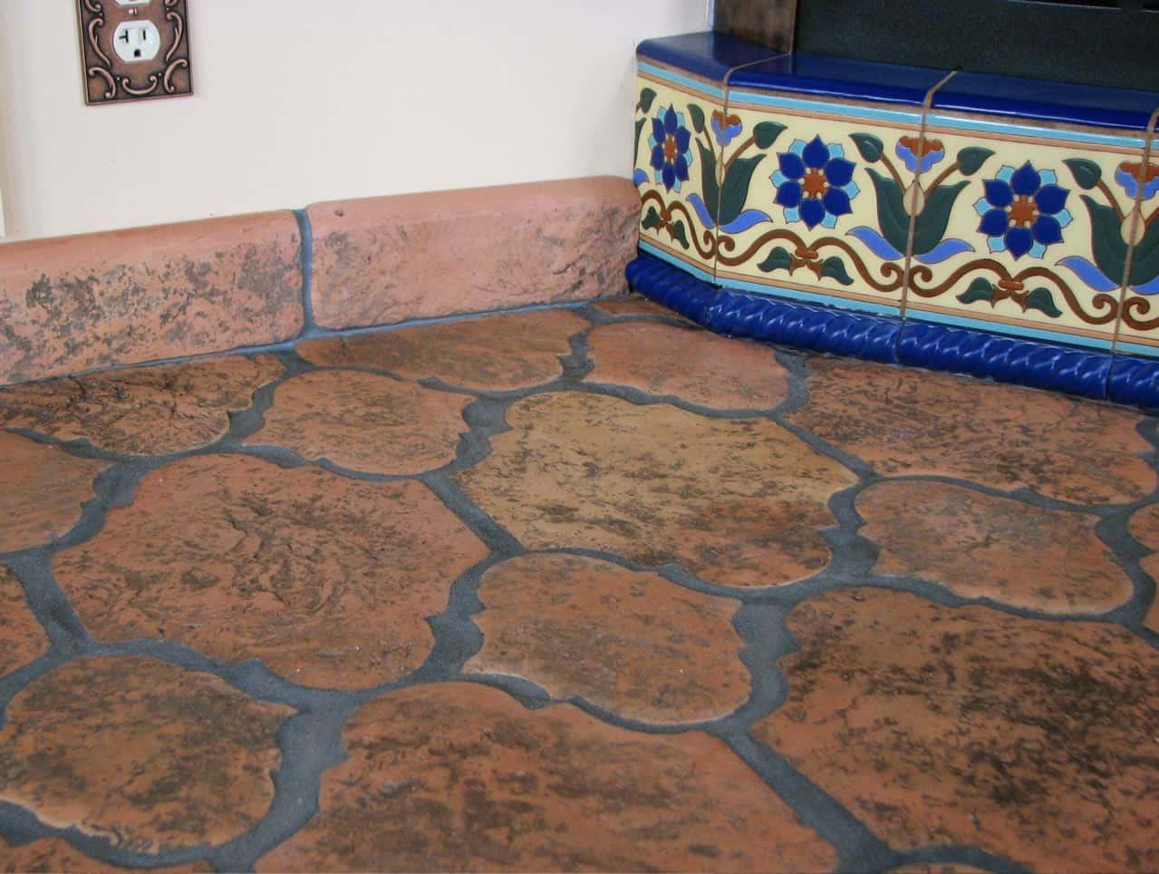mexican floor tiles warmth or colour