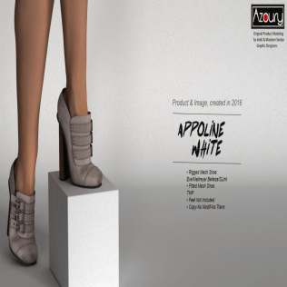 AZOURY - Appoline Shoe White
