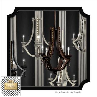 {Petite Maison} Anais chandeliers