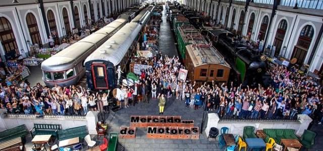 Mercado de Motores madridfeten - 10 planes con niños para este verano