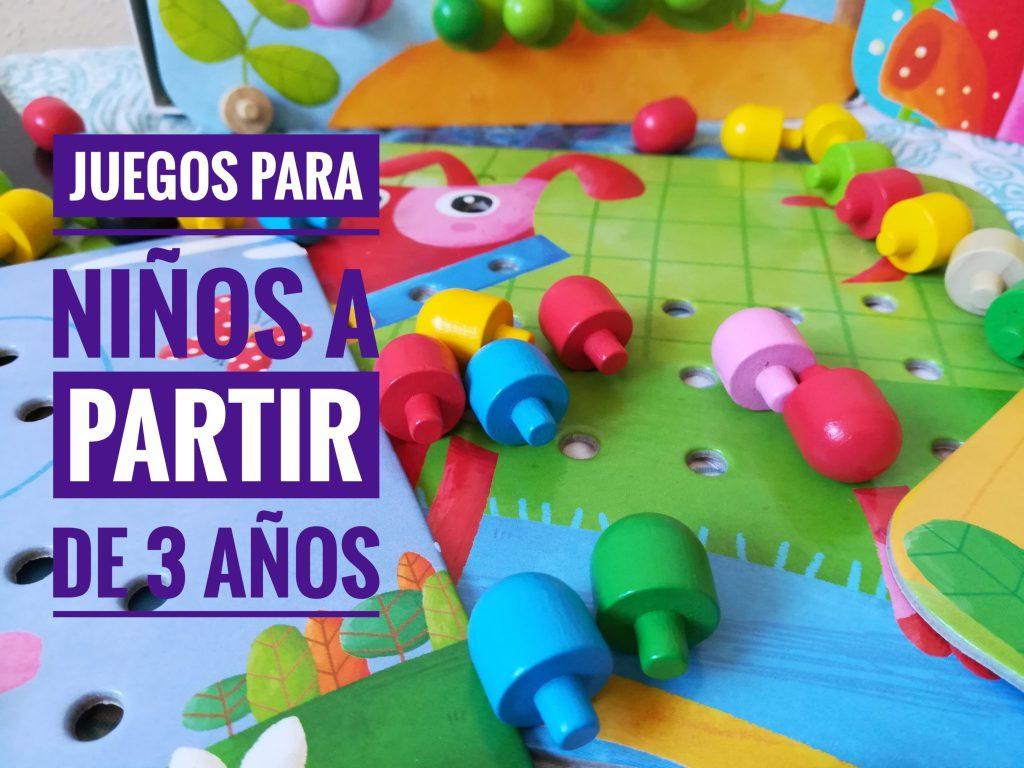 Juguetes Didacticos Para Ninos De 3 Anos Juegos Educativos Ideas