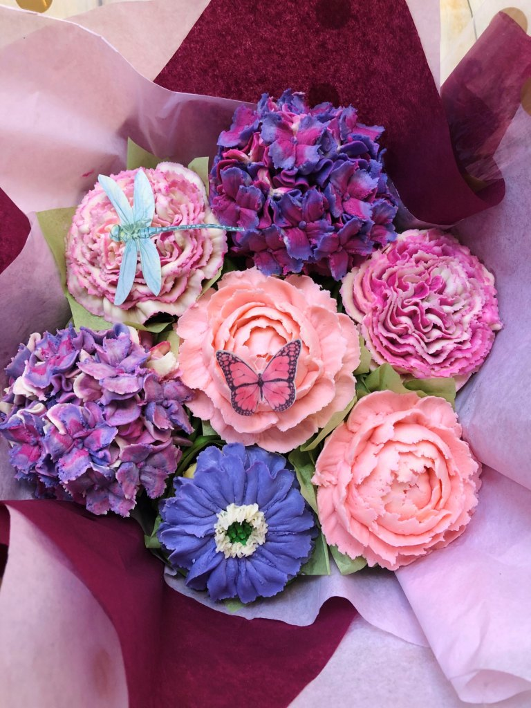 Cupcake Floral Bouquets Made to Order Philadelphia PA 2020