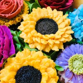 Custom Sunflower Gluten Free Cupcakes PA