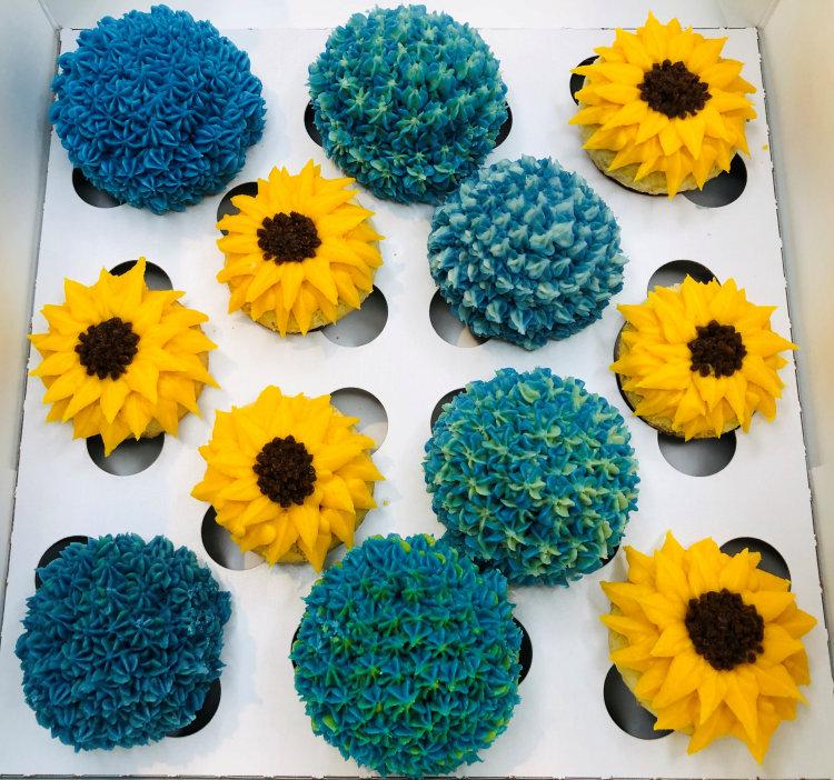 floral cupcakes in philadelphia pa