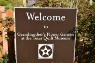 Grandmother's Flower Garden at the Texas Quilt Museum