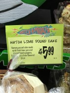 a Hatch Chile Lime Pound Cake s