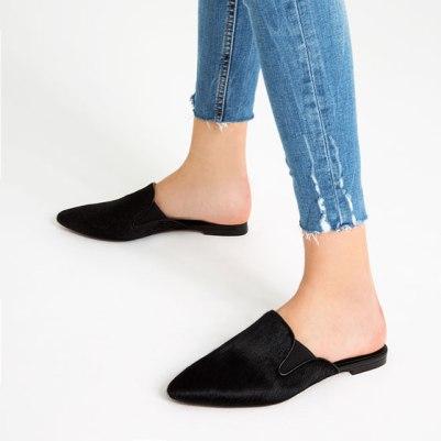 Zapatos destalonados de ZARA