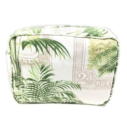 Tropical toilet bag