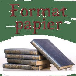 Format papier