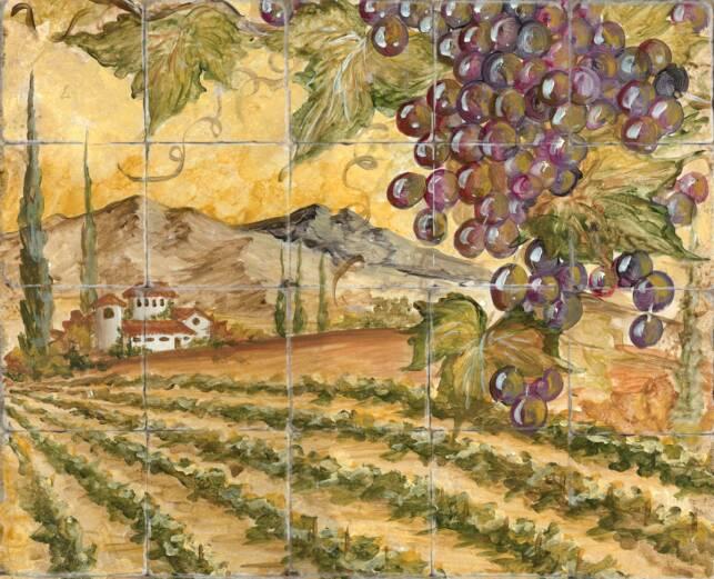Tre Sorelle Printed Tile Murals