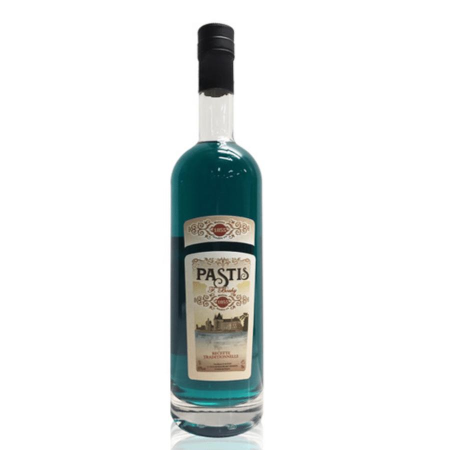 Visuel bouteille Pastis Bleu