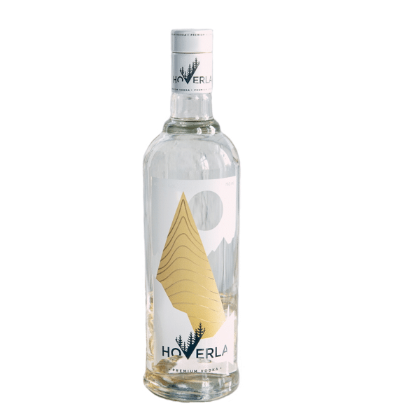 visuel bouteille vodka Hoverla