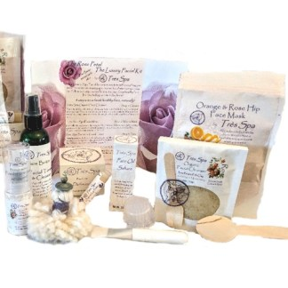 Tres Spa Luxury Spa Face Care Collection Rose