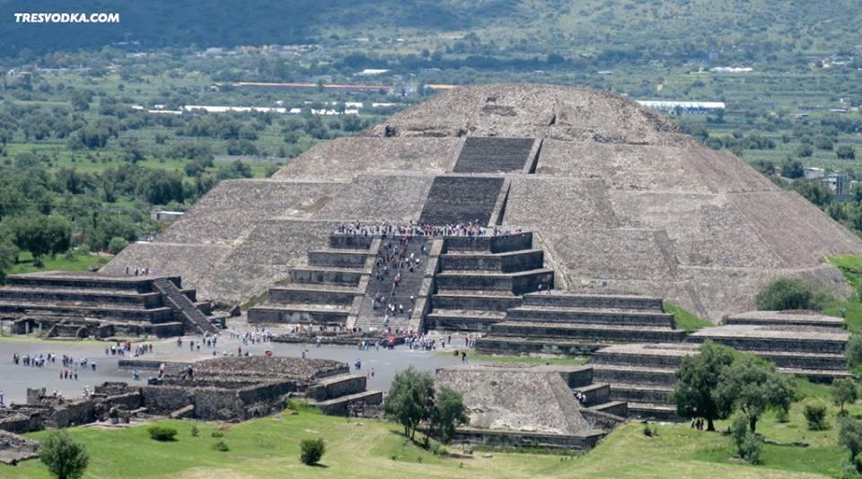 atrakcje Ameryki Łacińskiej - Teotihuacan