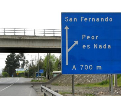 peoresnada - ciekawostki z Chile