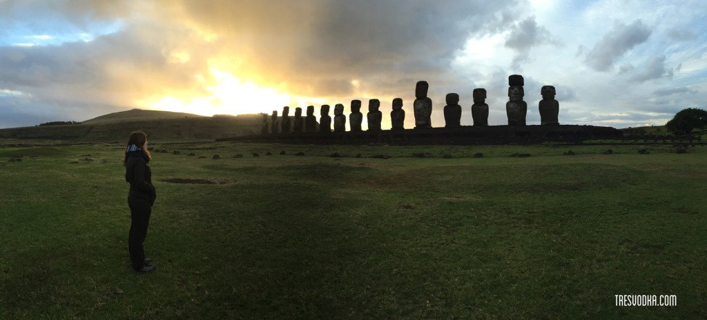 panorama 15 Moai