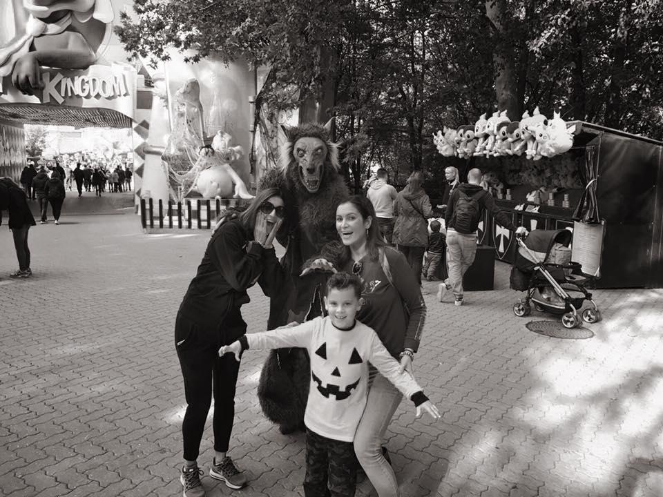 gardaland, halloween, viaggio con i bambini, parco divertimenti, trevaligie