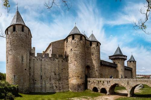 Carcassone, viaggio on the road in francia, trevaligie