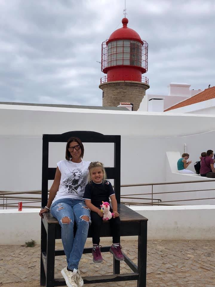 Sagres, cabo de sao vicente, algarve on the road con bambini, trevaligie