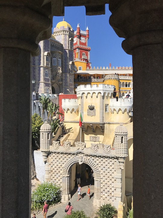 Sintra, palacio do pena, Lisbona, viaggio on the road in Portogallo, trevaligie