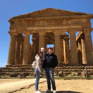 valle dei templi di agrigento con i bambini, viaggio on the road in sicilia, trevaligie