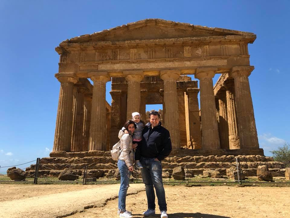 valle dei templi di agrigento con i bambini, viaggio on the road in sicilia, trevaligie