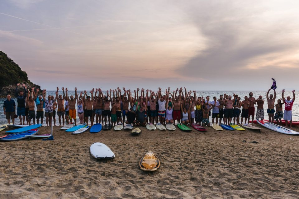 paddle out, come organizzare un paddle out in Italia, trevaligie