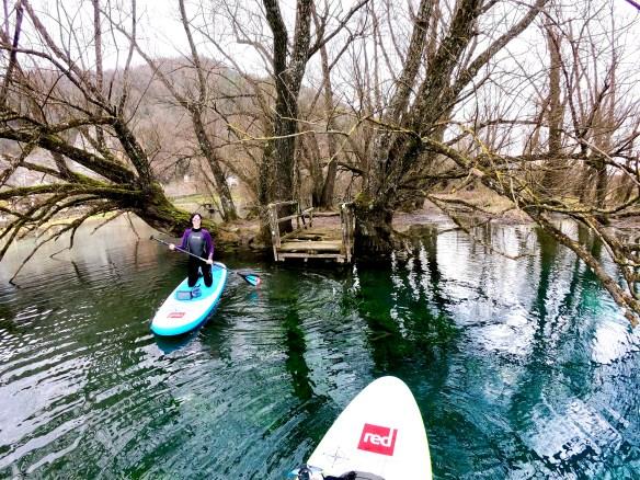 Sup trip sul lago, paddle life, escursione nella riserva naturale di Posta Fibreno, trevaligie