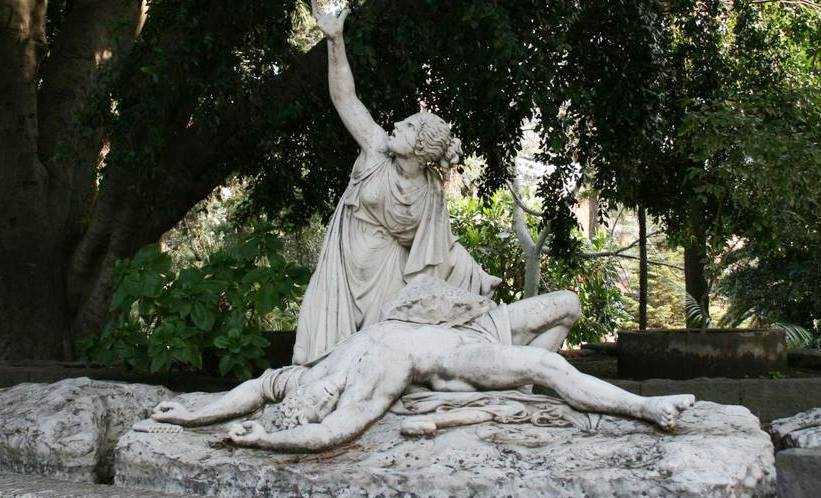 ACI e galatea, leggenda siciliana, viaggio a Santa Maria la scala, trevaligie