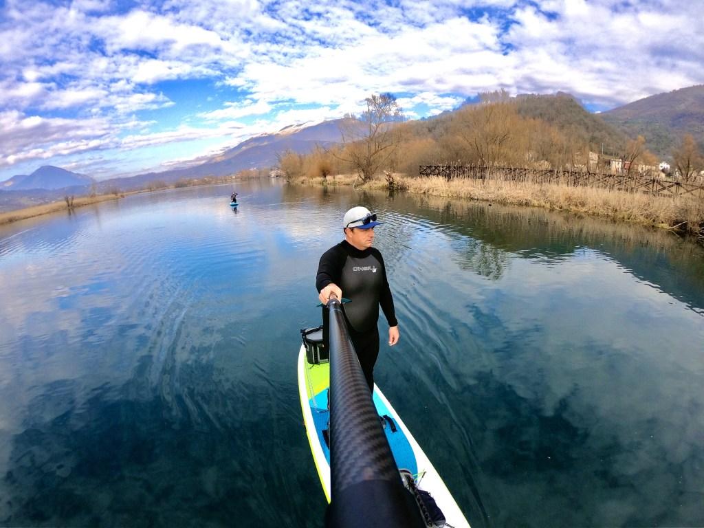 Dove fare sup nel Lazio, paddleboard nel Lazio, valle del Comino, trevaligie
